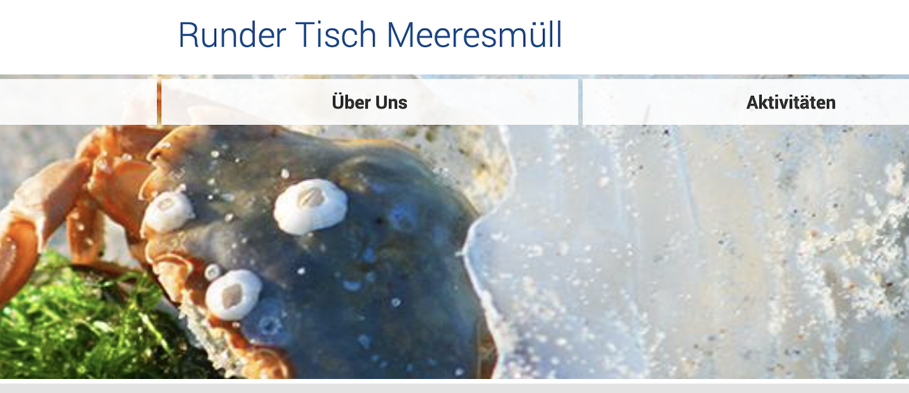 A new information platform of the German Round Table Marine Litter was launched