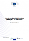 Maritime Spatial Planning (MSP) for Blue Growth Study (2018)